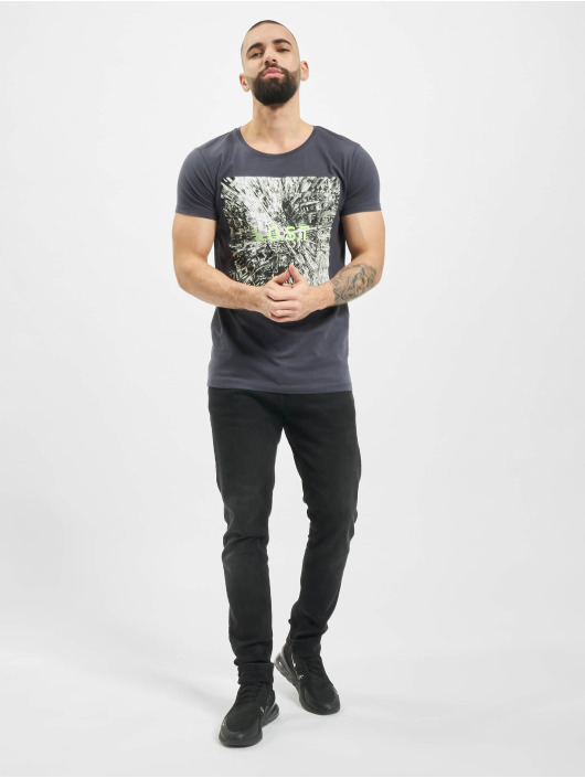 Sublevel T-Shirt Graphic blue