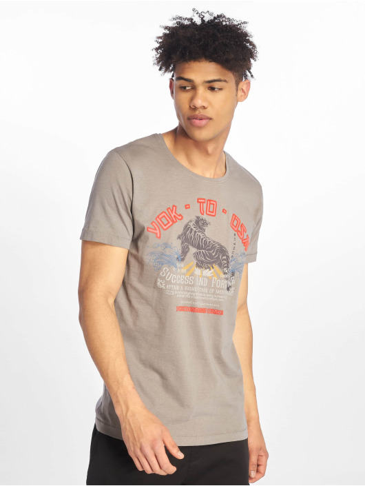 Sublevel T-Shirt Roundneck gray