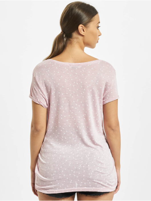 Sublevel T-Shirt Allover rose