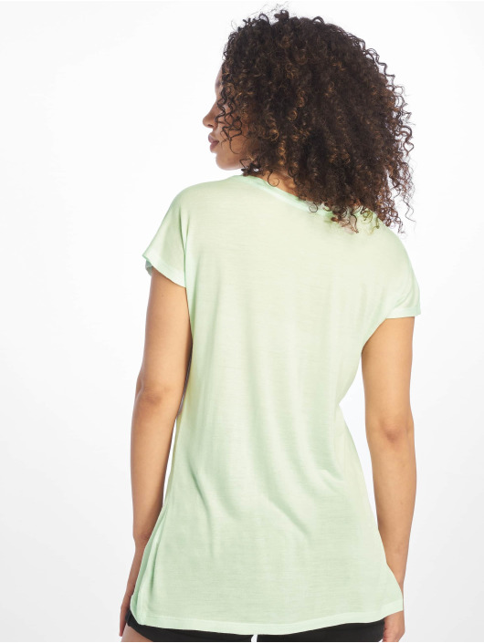 Sublevel T-Shirt Cut on Sleeves turquoise