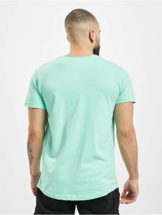 Sublevel T-Shirt Enjoy turquoise