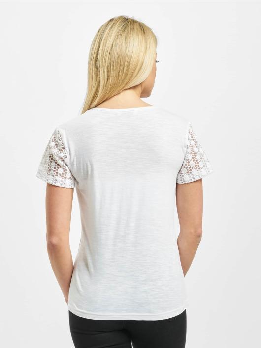 Sublevel T-Shirt Lace white
