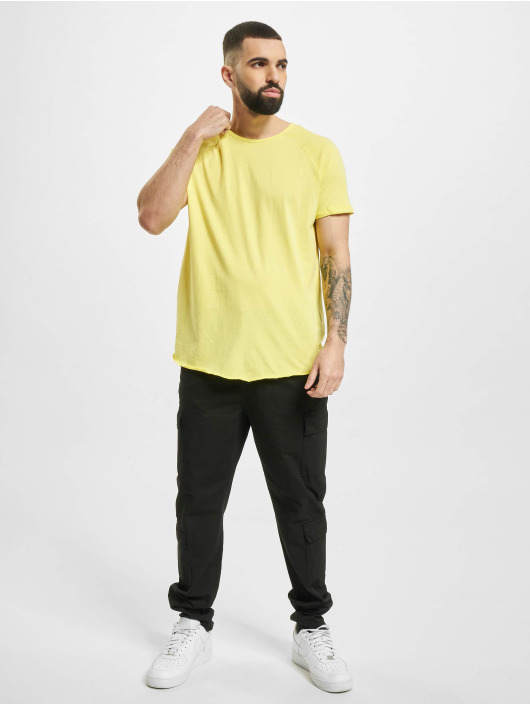 Sublevel T-Shirt Raglan yellow