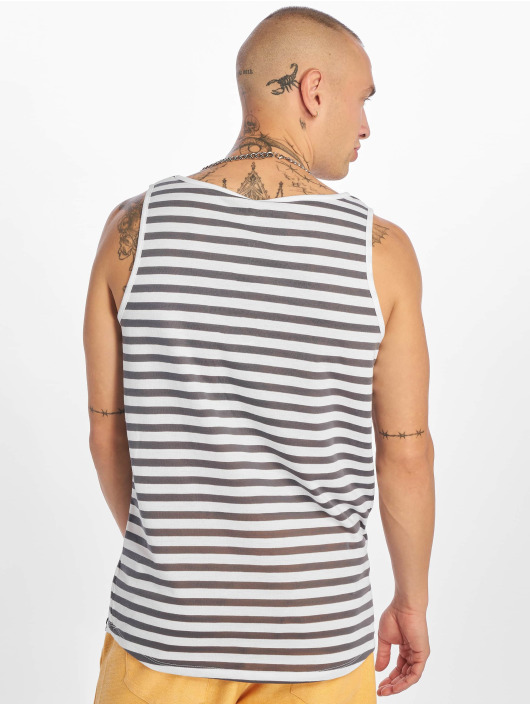 Sublevel Tank Tops Stripe blue