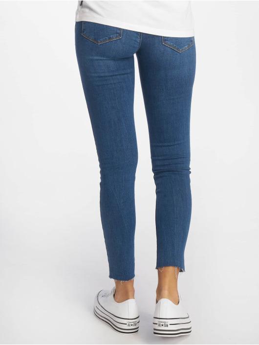 Tally Weijl Skinny Jeans Low Waist blue