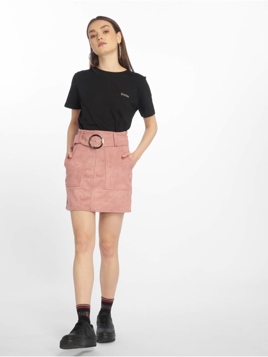 Tally Weijl Skirt Suede rose