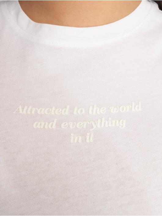 Tally Weijl T-Shirt Knitted white