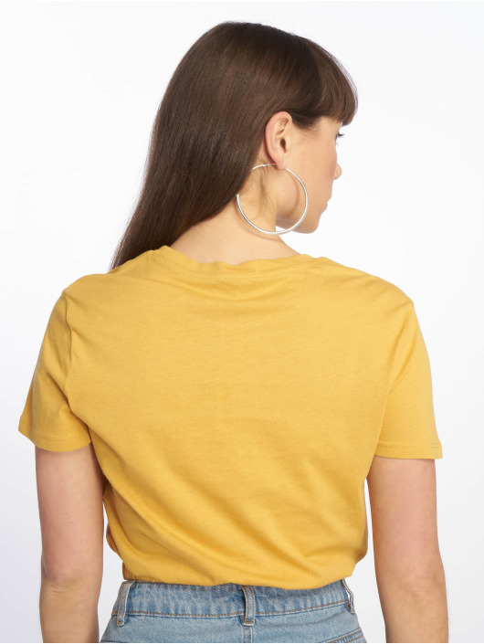 Tally Weijl T-Shirt Knitted yellow
