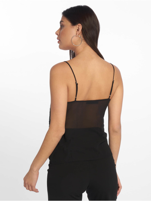 Tally Weijl Top Bead black