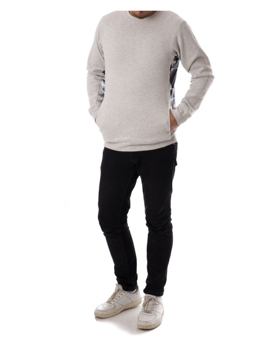 The Hundreds Pullover Sidewinder gray