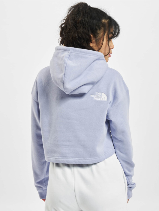 The North Face Hoodie Trnd Crp purple