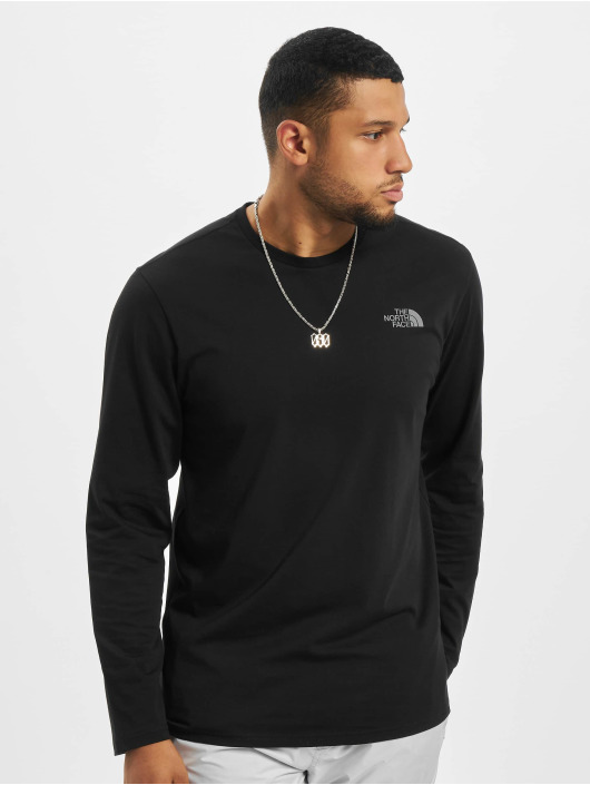 The North Face Longsleeve Face Easy black