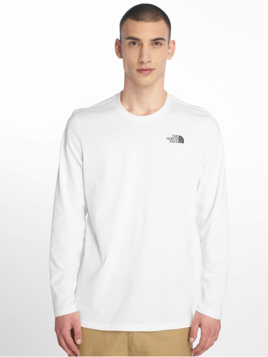 The North Face Longsleeve Face Easy white