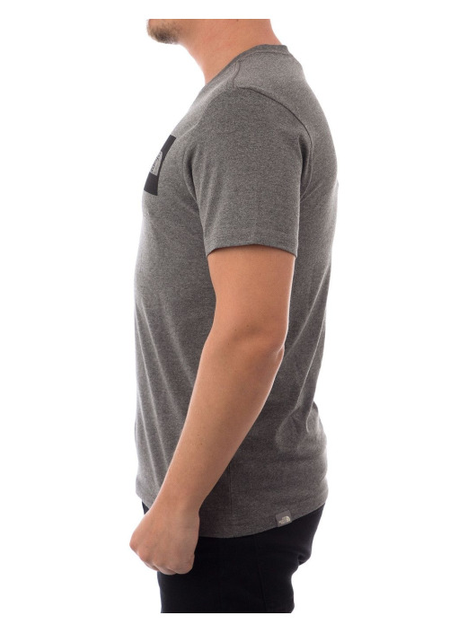 The North Face T-Shirt M SS Fine gray
