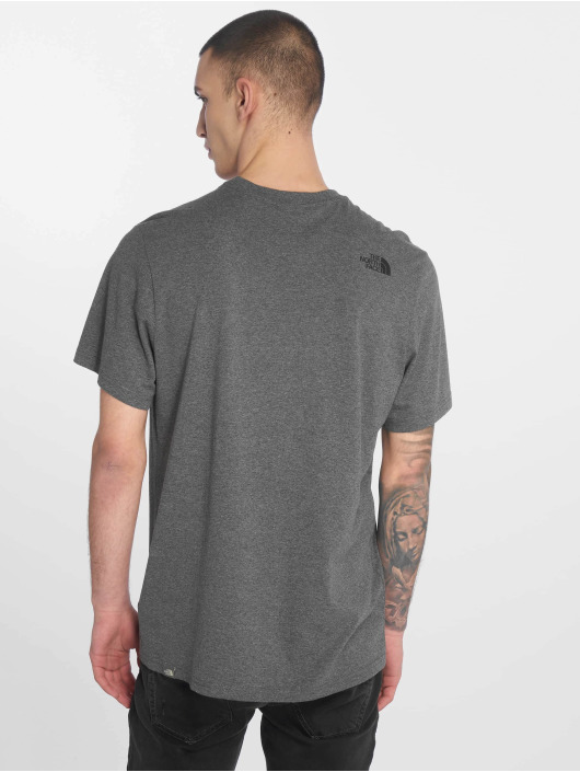 The North Face T-Shirt Face Simple Dome gray