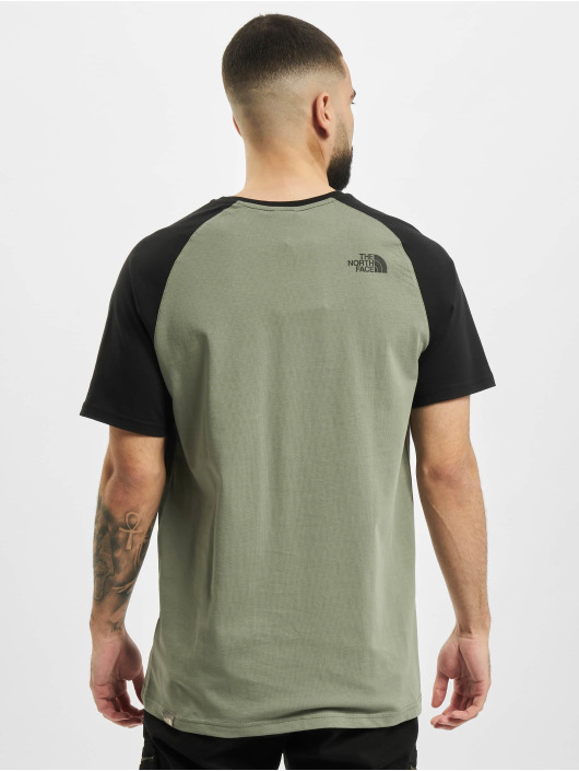 The North Face T-Shirt Ss Raglan Easy green