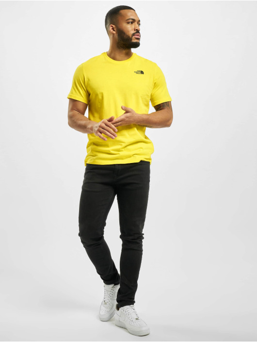 The North Face T-Shirt Red Box yellow