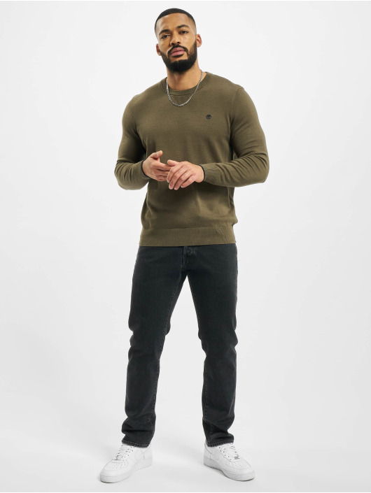 Timberland Pullover W-R 12GG Crew olive