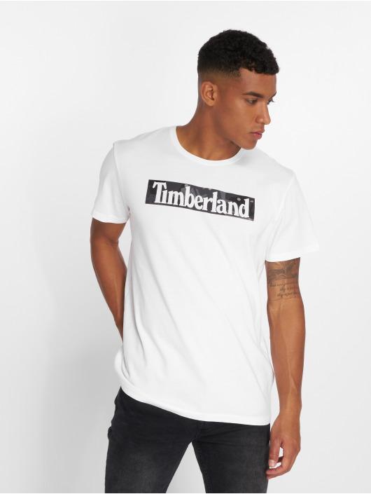 Timberland T-Shirt SSNL Pattern white