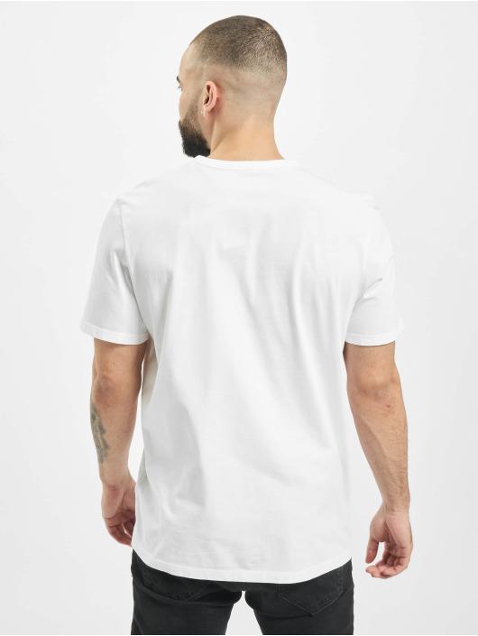 Timberland T-Shirt SS Estab 1973 white