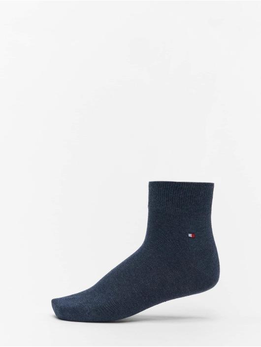 Tommy Hilfiger Dobotex Socks 2P Quarter blue