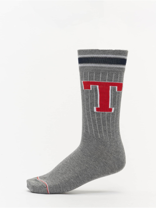 Tommy Hilfiger Dobotex Socks Patch 2P gray