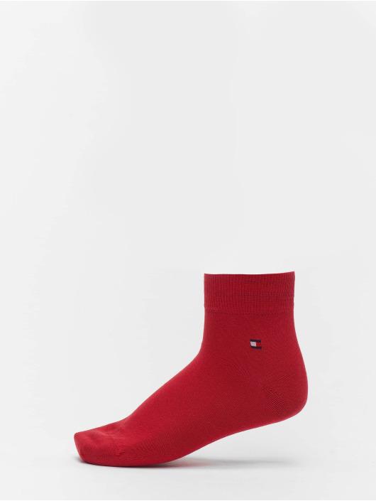 Tommy Hilfiger Dobotex Socks 2 Pack Quarter red