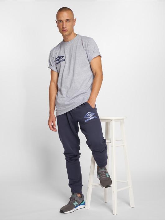 Umbro T-Shirt Classico Crew Logo gray