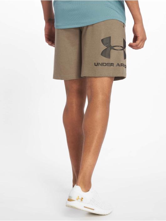 Under Armour Short Sportstyle Cotton Graphic brown