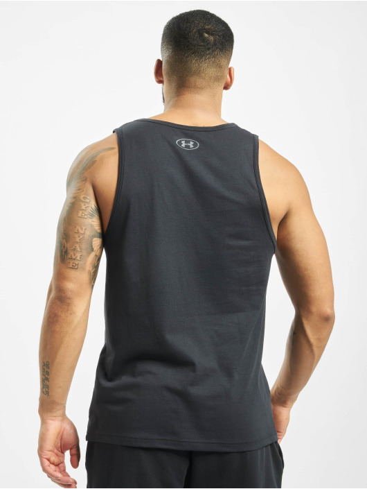 Under Armour Tank Tops Sportstyle Logo black
