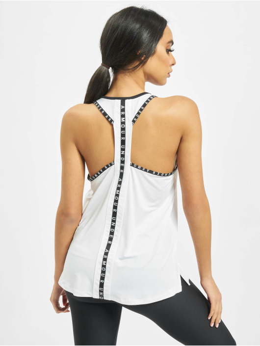 Under Armour Tank Tops UA Knockout white