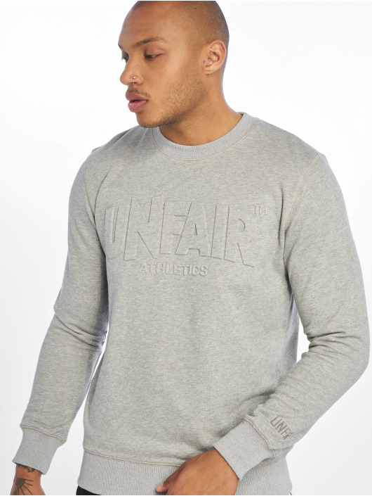 UNFAIR ATHLETICS Pullover Classic Label 3D gray