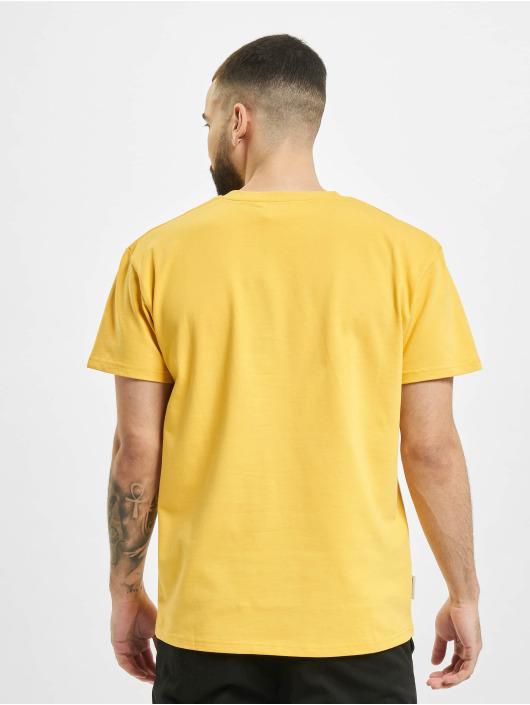 UNFAIR ATHLETICS T-Shirt Dmwu Patch yellow