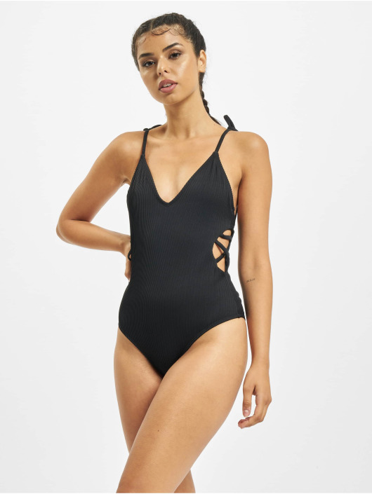 Urban Classics Bathing Suit Rib black