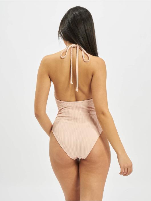 Urban Classics Bathing Suit Rib rose