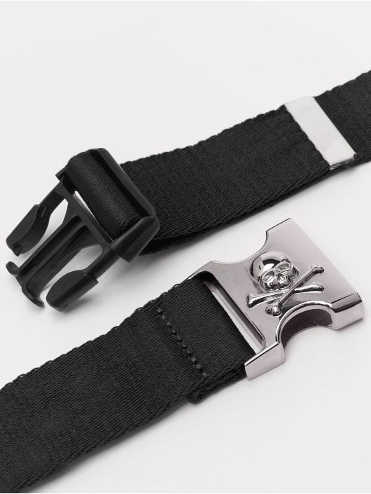 Urban Classics Belt Skull Buckle black