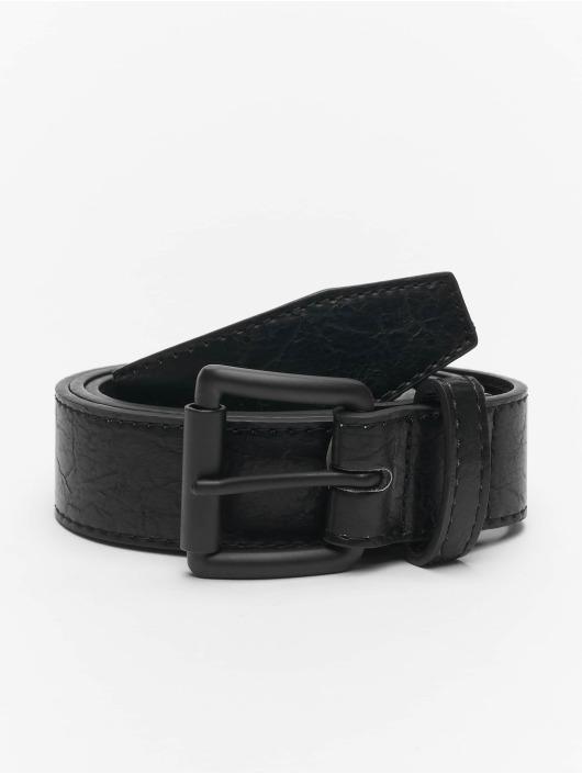 Urban Classics Belt Marmorized PU Leather black