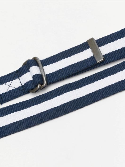 Urban Classics Belt Stripe blue