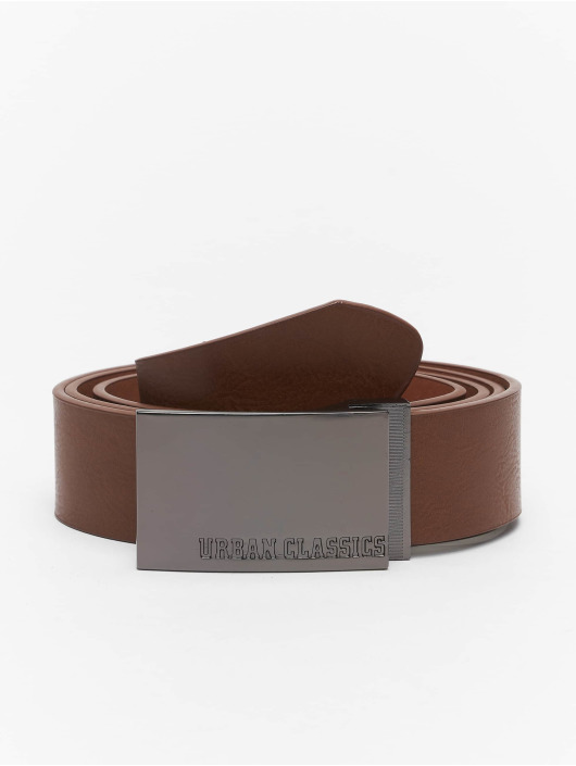 Urban Classics Belt Imitation Leather Business brown