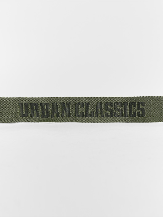 Urban Classics Belt Jaquard green