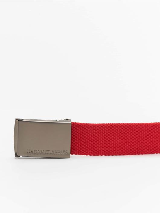 Urban Classics Belt Canvas red