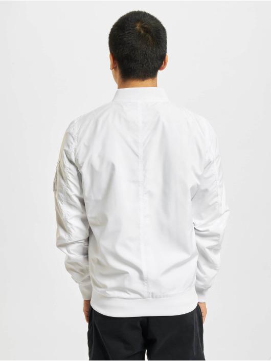 Urban Classics Bomber jacket Light Bomber white