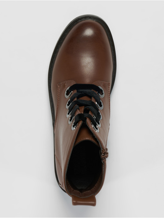 Urban Classics Boots Velvet Lace brown