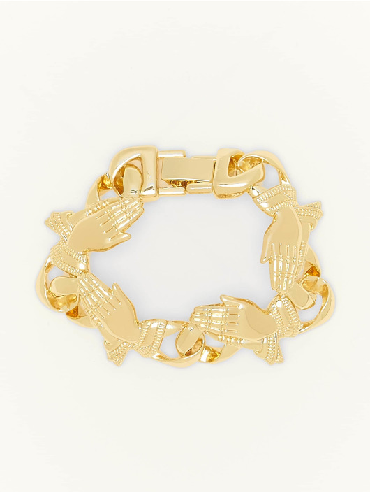 Urban Classics Bracelet Pray Hands gold