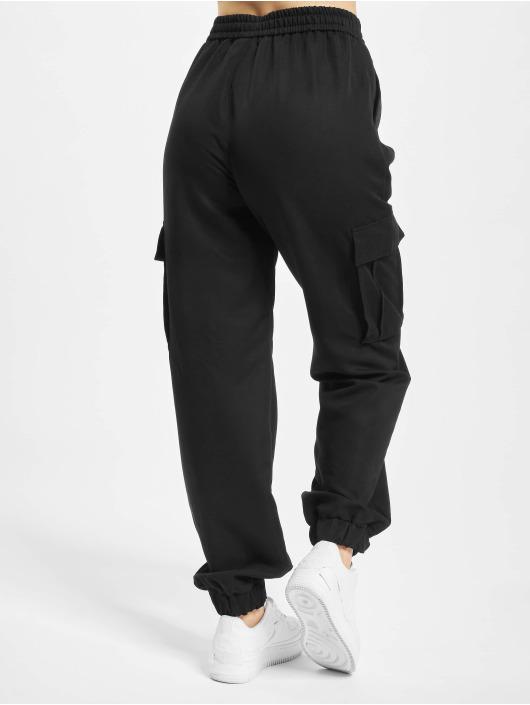Urban Classics Cargo pants Viscose Twill black