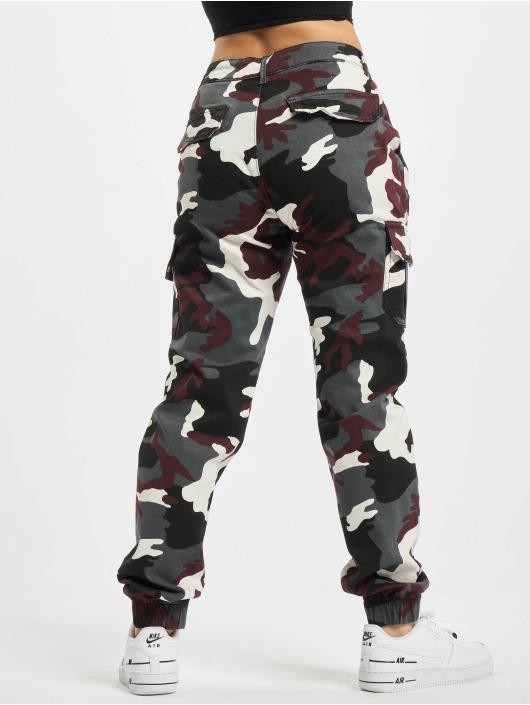 Urban Classics Cargo pants Ladies High Waist Camo camouflage