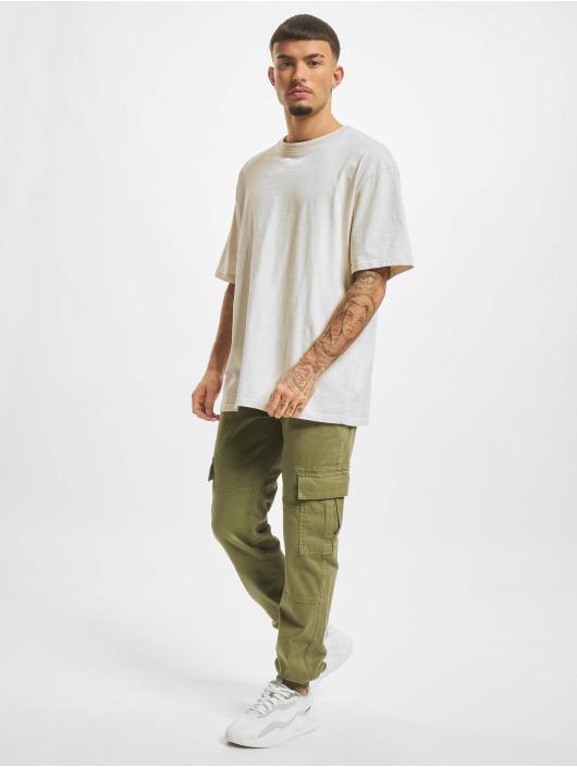 Urban Classics Cargo pants Washed Cargo Twill Jogging olive