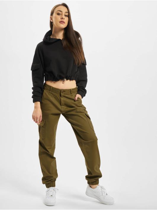 Urban Classics Cargo pants High Waist Cargo olive