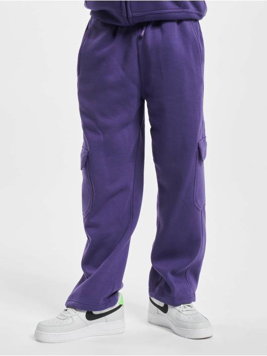 Urban Classics Cargo pants Cargo purple