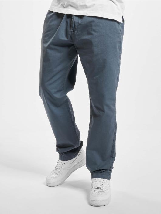 Urban Classics Chino pants Straight Leg blue